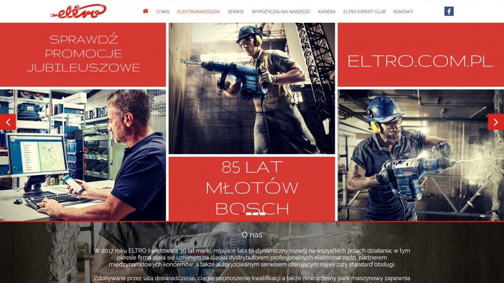 Projekt strony Eltro