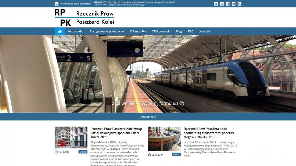 Projekt strony RPPK
