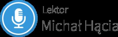 Logo strony Lektor Michał Hącia